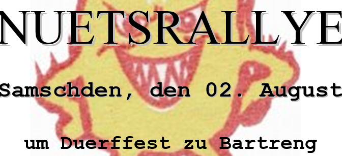 Nuetsrallye an Duerffest 2014